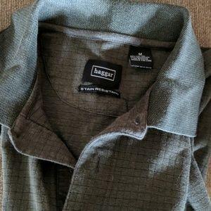 Haggar Shirts - Long sleeve polo